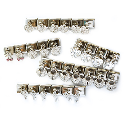 Цирконовые подвески для браслетов