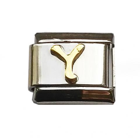 Звено для браслета с буквой Y