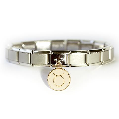 Стартовый браслет матовый с подвеской Знак зодиака Овен