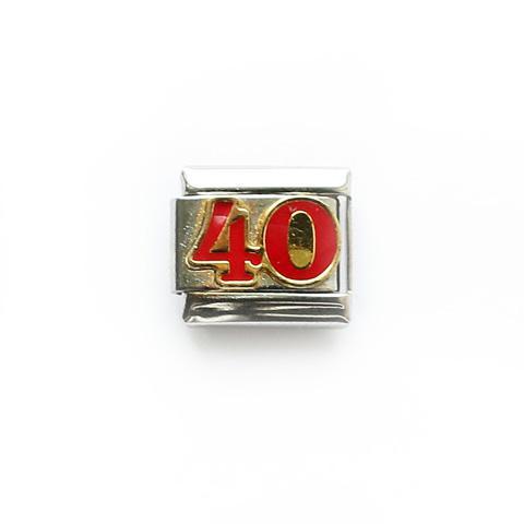 Звено с числом 40