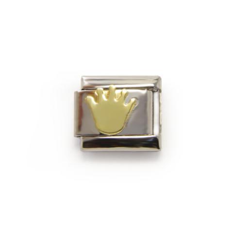 Звено с золотой коронкой