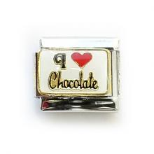 "Звено с надписью ""Люблю шоколад"""